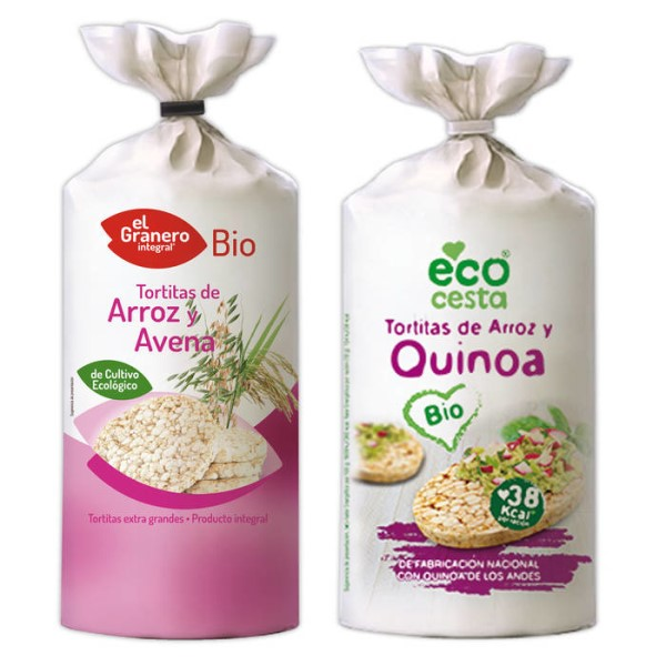 LOGO_ORGANIC RICE CAKES WITH CEREALS