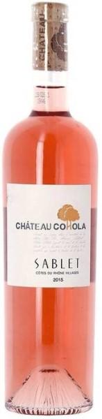 LOGO_Château Cohola Côtes du Rhône Villages Sablet organic rosé 2016