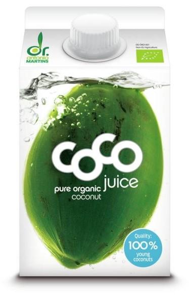 LOGO_coco juice pur - 500ml Elopak mit Schraubverschluss