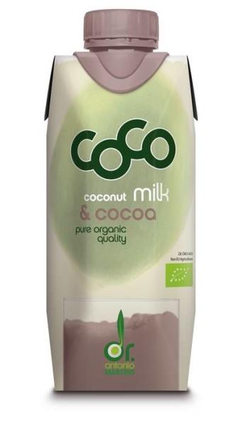 LOGO_coco milk & cocoa - 330ml Tetra Edge mit Schraubverschluss