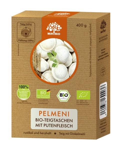 """LOGO_""""Pelmeni"""" organic dough bags with turkey meat"""