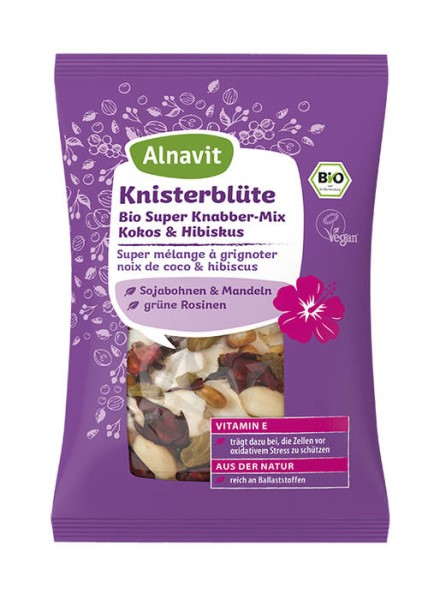 LOGO_Organic Fruit & Nut Mix with Coconut & Hibiscus