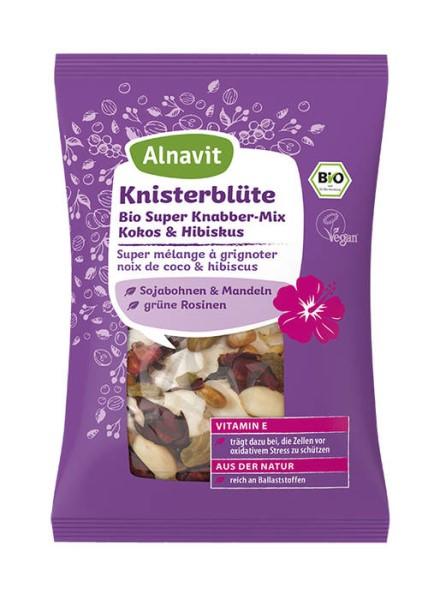 LOGO_Knisterblüte Bio Super Knabber-Mix Kokos & Hibiskus