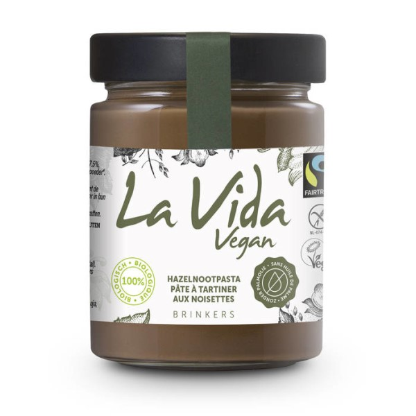 LOGO_La Vida Vegan Nuss-Nougat Brotaufstriche