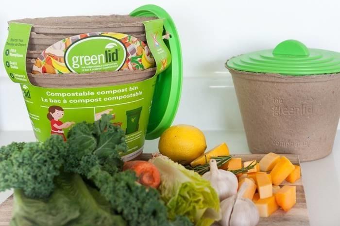 LOGO_Greenlid, der kompostierbare Sammelbehälter für Küchenabfälle