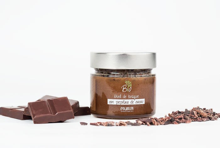LOGO_Organic forest honey with cocoa nibs