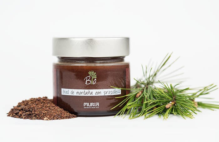 LOGO_Organic mountain honey with Propolis