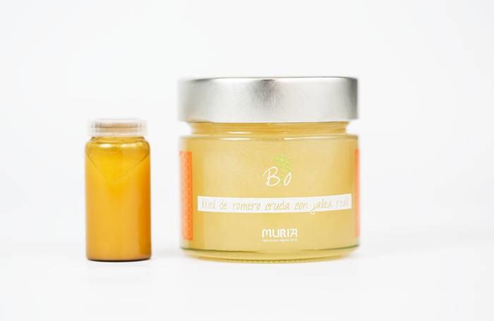 LOGO_Organic raw rosemary honey with royal jelly