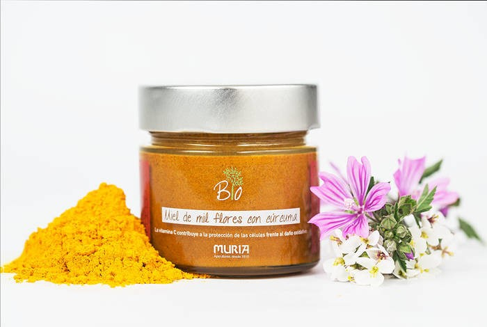 LOGO_Organic thousand flowers honey with turmeric