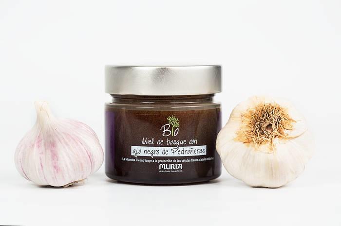 LOGO_Organic honey with black garlic
