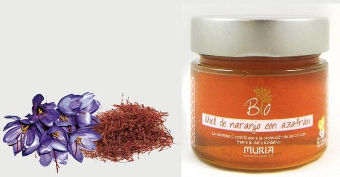 LOGO_Organic Orange Honey with Organic Saffron and acerola