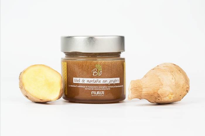 LOGO_Organic mountain honey with ginger