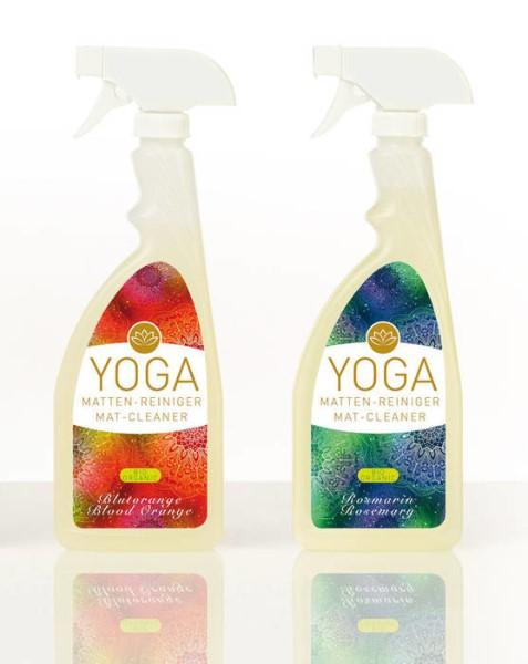 LOGO_Der Bio zertifizierte Yogamatten-Reiniger hilft bei der Pflege und Reinigung von rutschfesten Yogamatten.