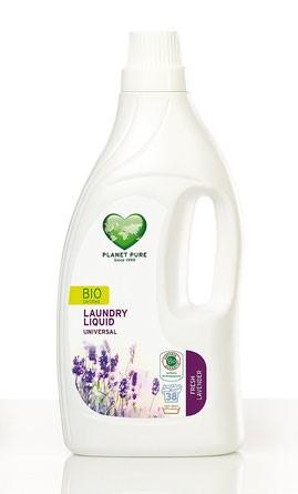 LOGO_Bio zertifiziertes Universal Waschmittel Lavendel