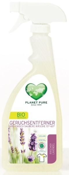 LOGO_GERUCHSENTFERNER Der Bio-zertifizierte Geruchsentferner entfernt unangenehme Schweißgerüche auf Textilien.