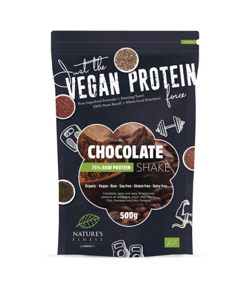 LOGO_JUST THE VEGAN PROTEIN CHOCOLATE SHAKE