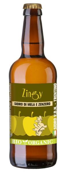 LOGO_Italienisch und Biologisch Apfelwein mit Ingwer