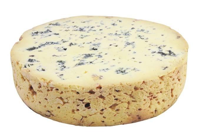 "LOGO_""Cave ripened blue cheese"" Organic cheese"