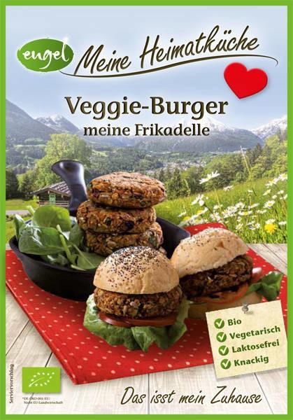 LOGO_Veggie Burger, meine Frikadelle