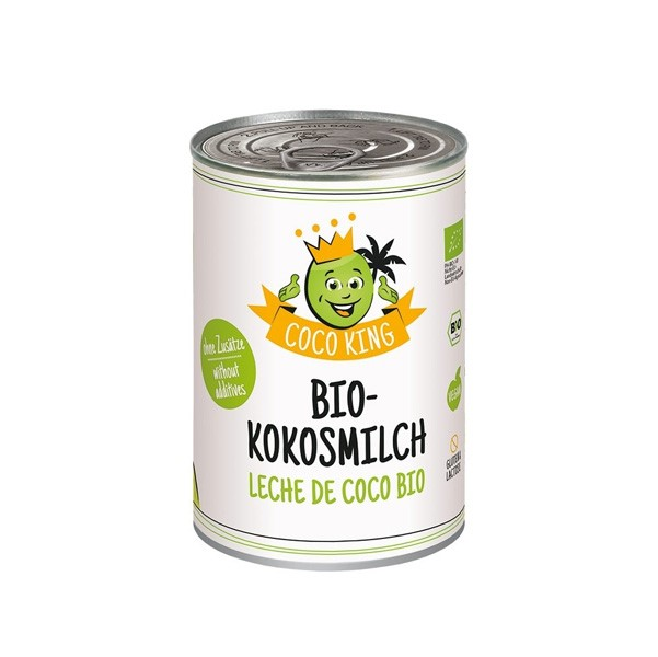 LOGO_Coco King Organic Coconut Milk, 400 ml