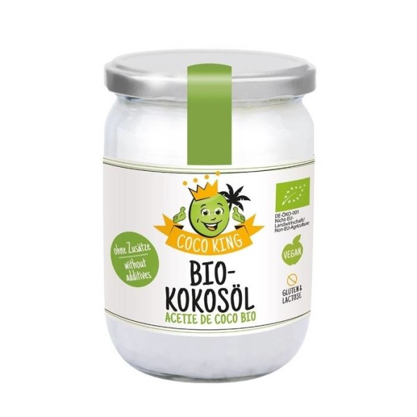 LOGO_Coco King Organic Coconut Oil, 450 ml