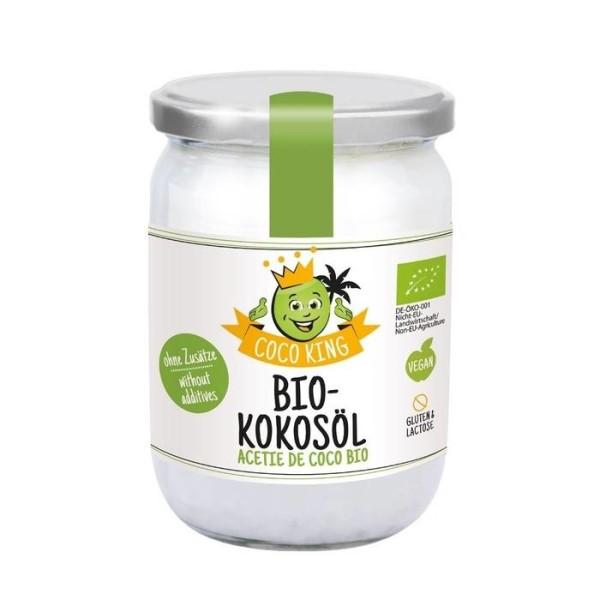 LOGO_Coco King Bio-Kokosöl, 450 ml