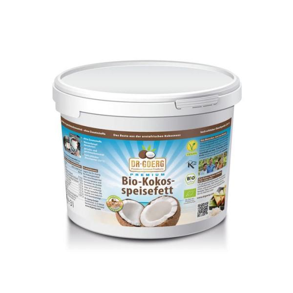 LOGO_Dr. Goerg Premium Organic Coconut Fat, 3 l pail