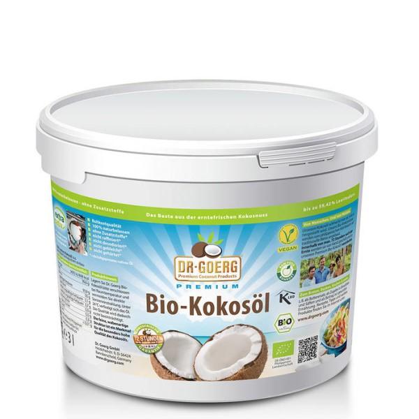 LOGO_Dr. Goerg Premium Bio-Kokosöl, 3 Liter