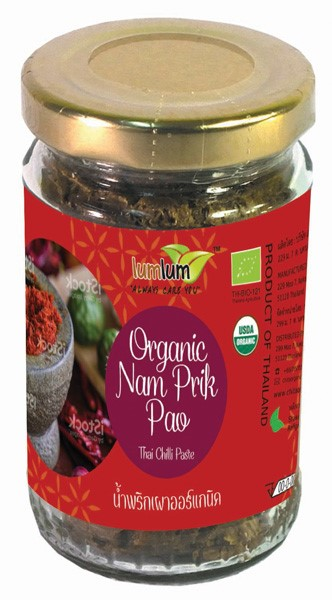 LOGO_Organic Nam Prik Pao (Thai Chilli Paste)