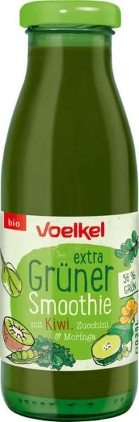 LOGO_extra Grüner Smoothie mit Kiwi, Zucchini & Moringa