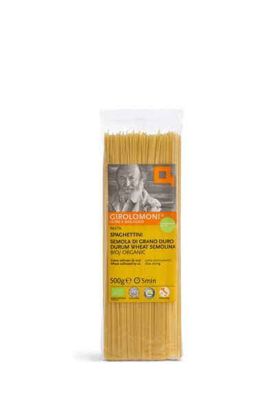 LOGO_GIROLOMONI Bio Spaghettini aus Hartweizengrieß