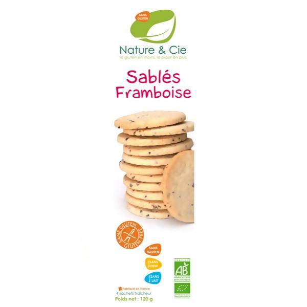 LOGO_Nature & Cie – Gluten Free Biscuits Raspberry 120g