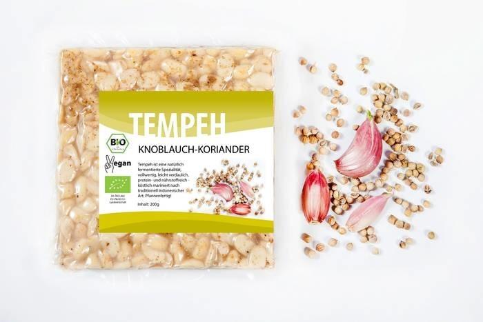 LOGO_Tempe garlic-coriander, 200g