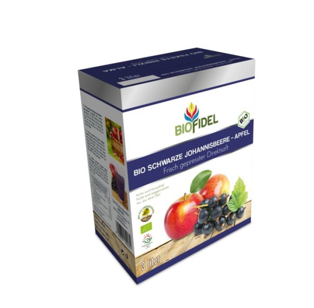 LOGO_Organic apple-black currant 100% Freshly squeezed natural juice