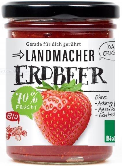 LOGO_Landmacher Bioland Fruit Spread Strawberry