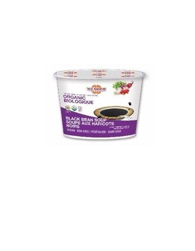 LOGO_Taste Adventure Organic Black Bean Soup Mix Cup