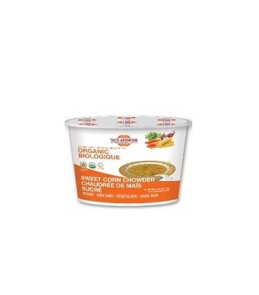 LOGO_Taste Adventure Organic Sweet Corn Chowder Soup Mix Cup