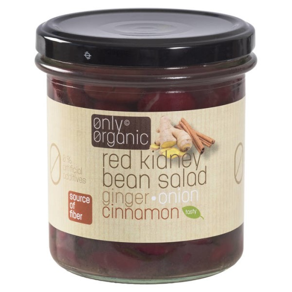 LOGO_Red kidney beans salad with ginger, onion and cinnamon