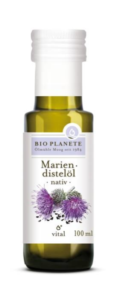 LOGO_Mariendistelöl nativ, 100 ml