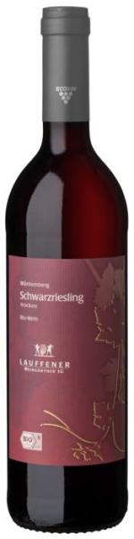 LOGO_Lauffener Weingärtner Bio Schwarzriesling QbA trocken 0,75 l