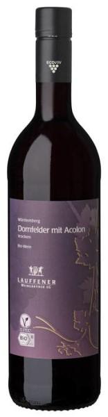 LOGO_Lauffener Weingärtner Bio Dornfelder mit Acolon QbA trocken 0,75 l