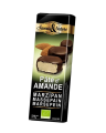 "LOGO_Saveurs & Nature ""Amandines"" Marzipantaler aus schwarzer Schokolade, 45g"