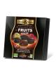 LOGO_Saveurs & Nature Pralinen, 25 Stk assortiert aus Zartbitterschokolade mit Fruchtganachefüllung, gluten- und laktosefrei, 100% vegan