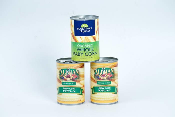 LOGO_Organic Canned baby corn