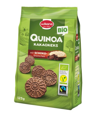 LOGO_Organic Fairtrade Quinoa Cocoa Biscuit with Chocolate Chips 125 g