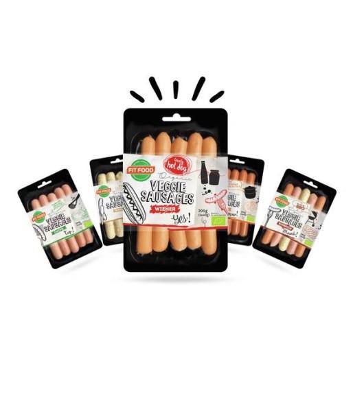 LOGO_Organic Sausage family