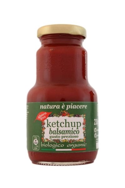 LOGO_Balsamic Ketchup, Organic, Gluten-free, Vegan