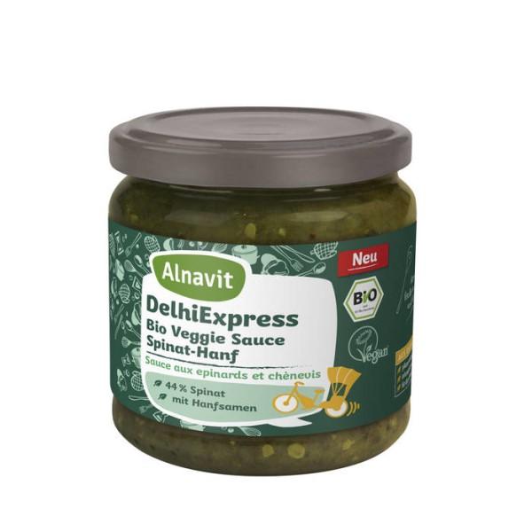 LOGO_DehliExpress Bio Veggie Sauce Spinat-Hanf