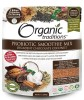 LOGO_Organic Traditions®  Probiotic Superfood Smoothie Mixes in 3 different flavors: Decadent Chocolate Coconut, Delicious Berry Burst and Luscious Lucuma Baobab