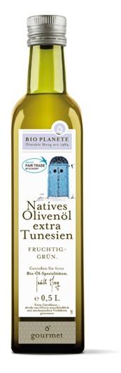 LOGO_natives Olivenöl extra - Tunesien FAIR TRADE  - Feine Geschmacksnoten von Pfeffer und grüner Tomate.
